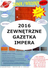 Zewnętrzne i śródlokalowe - Gazetka 2016 Impera