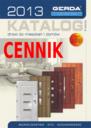GERDA - CENNIK I KATALOG